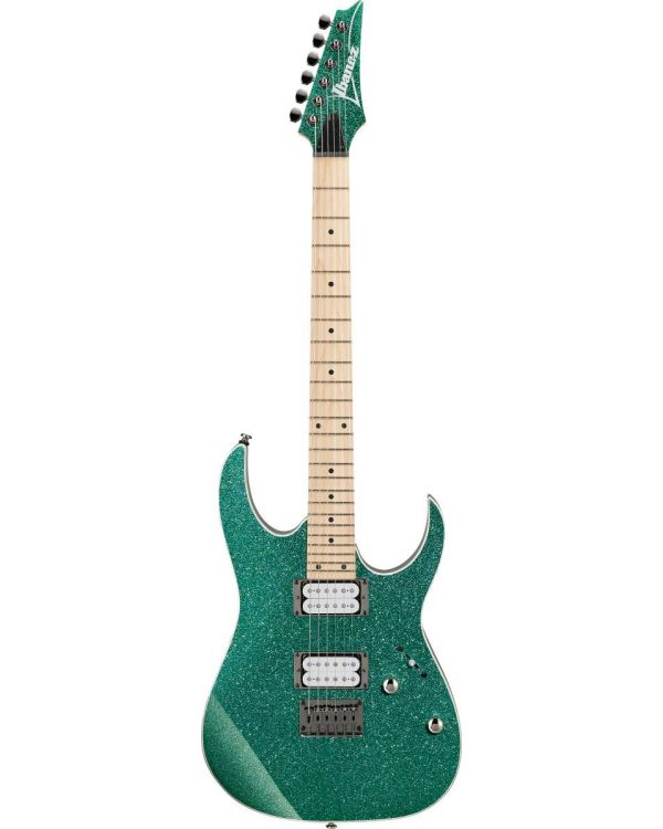 Ibanez RG421MSP-TSP RG Electric Guitar, Turquoise Sparkle