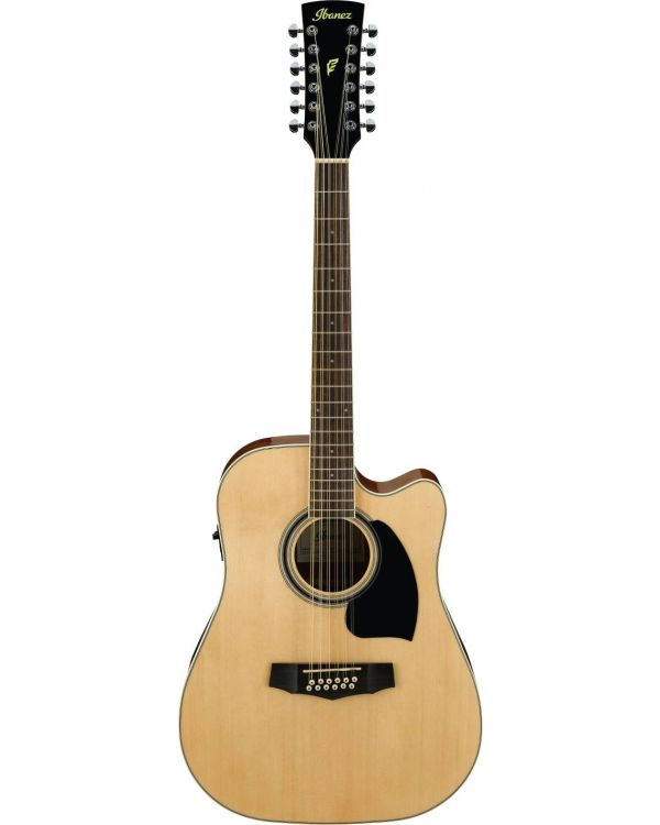 Ibanez PF1512ECE PF Electro Acoustic 12 String, Natural