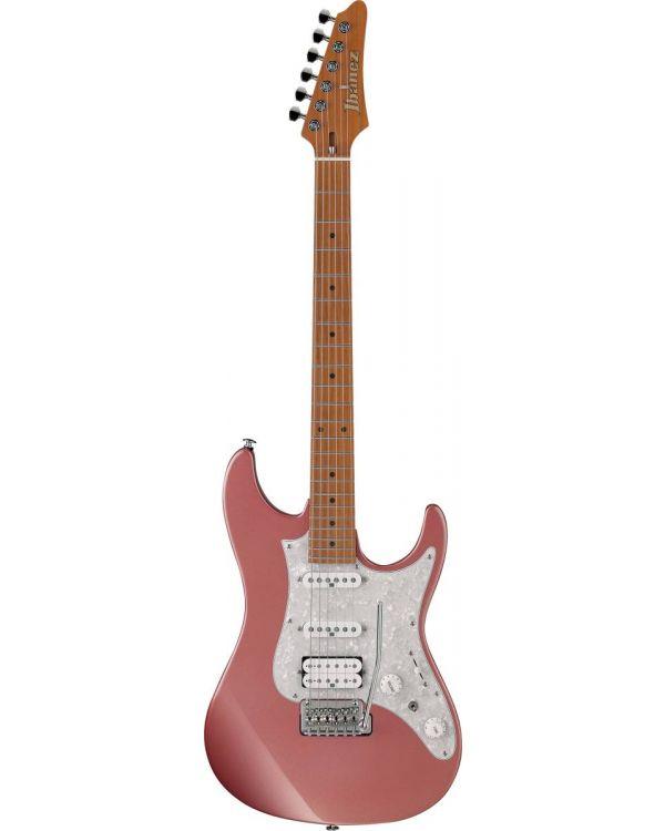 Ibanez AZ2204-HRM AZ Prestige Electric Guitar, Hazy Rose Metallic