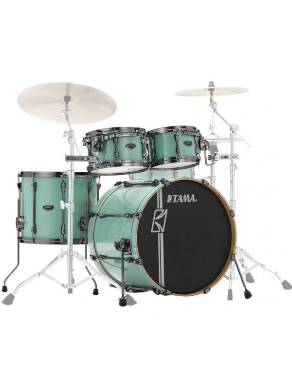 Tama Superstar Hyper-Drive Maple 4-Piece Shell Pack Sea Foam Green