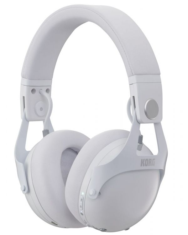 Korg NCQ1-WH Smart Noise Cancelling Headphones, White