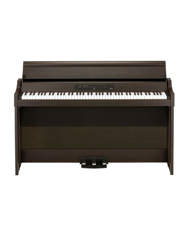 Korg G1B AIR-BR Digital Home Piano, Brown
