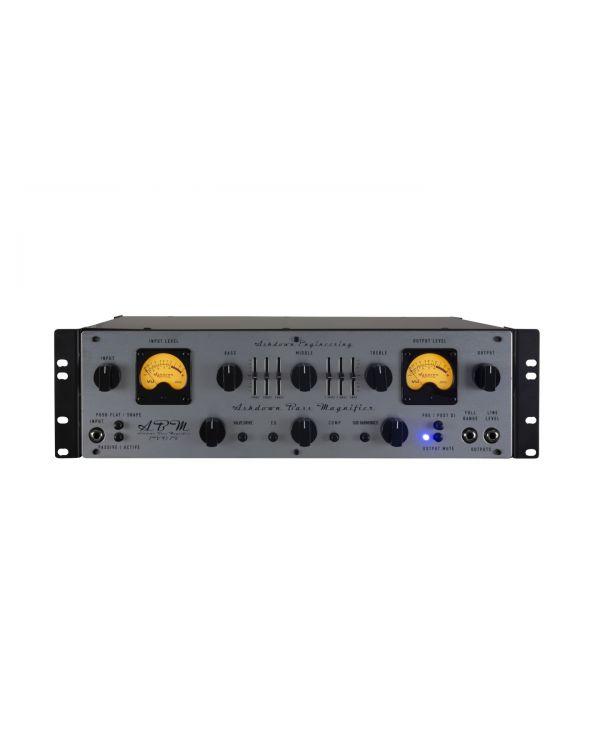 Ashdown ABM 600-DR-EVO IV Dual VU Rack Bass Magnifier Head