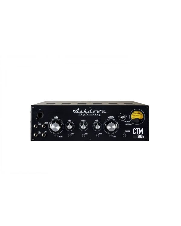Ashdown CTM-200R Valve 3u Rack Bass Head