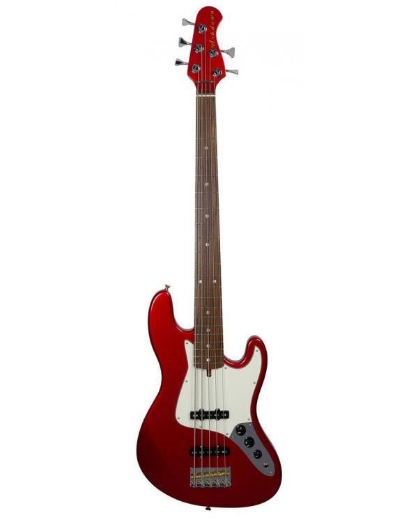 Ashdown The Grail 5 Bass Guitar, Candy Apple Red