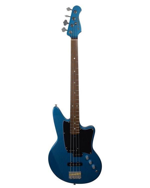 Ashdown The Saint 4 Bass Guitar, Lake Placid Blue Metalic