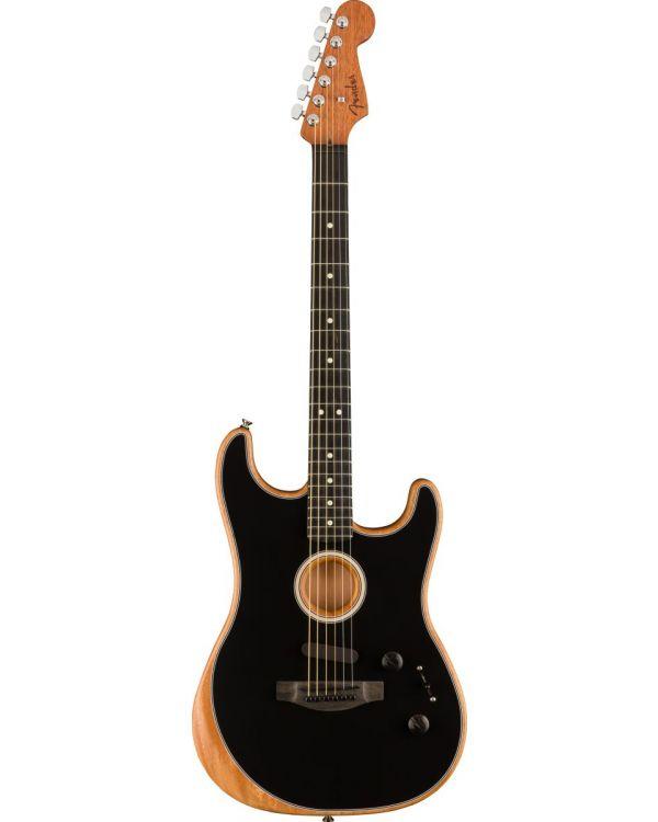 Fender American Acoustasonic Stratocaster, Black