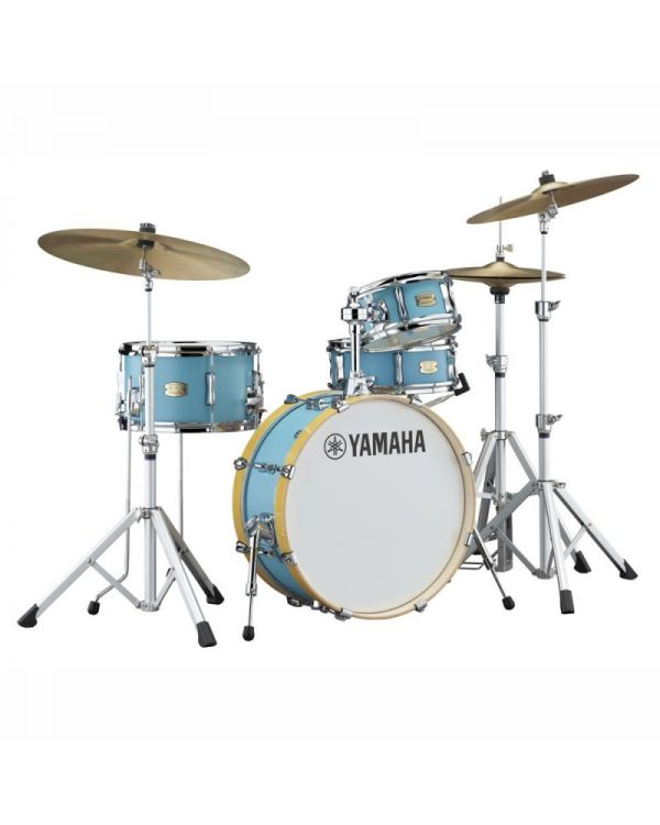 "Yamaha Stage Custom Hip 20"" Shell Pack, Matte Surf Green"