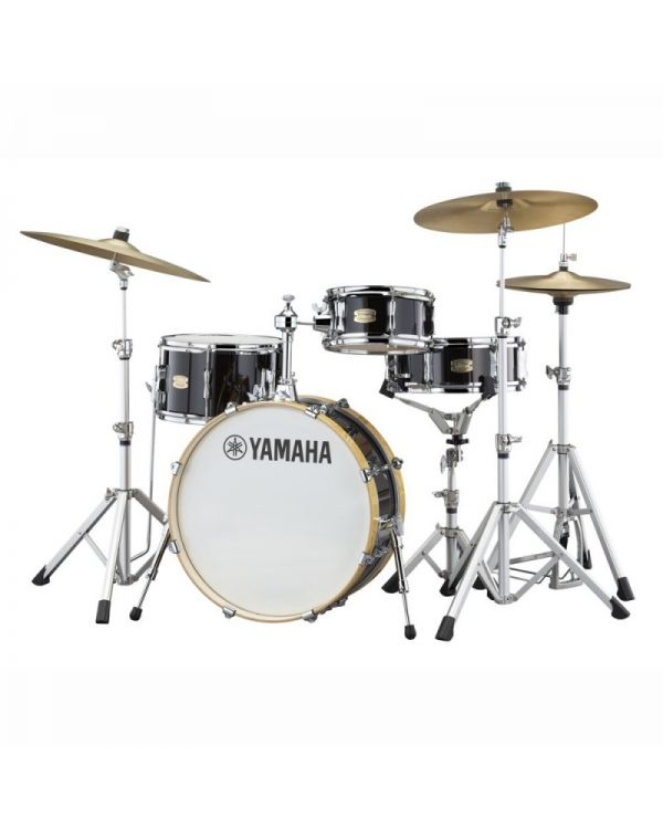 "Yamaha Stage Custom Hip 20"" Shell Pack, Raven Black"