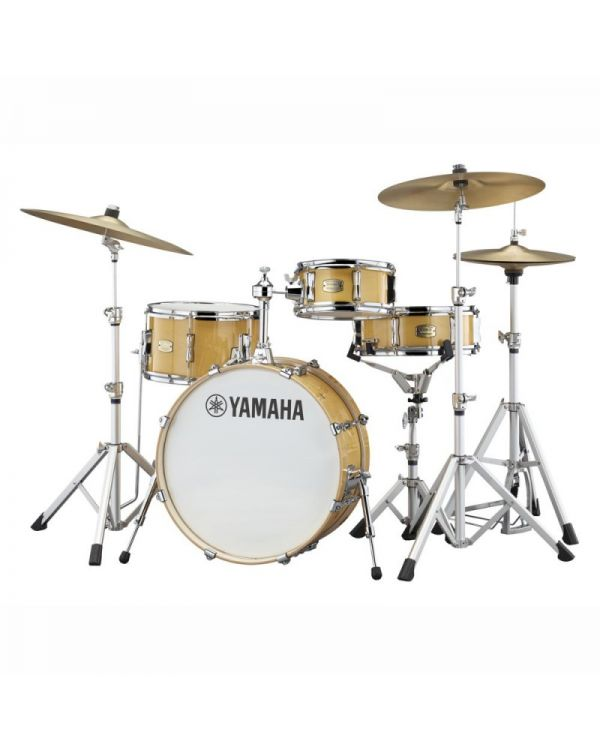 "Yamaha Stage Custom Hip 20"" Shell Pack, Natural Wood"