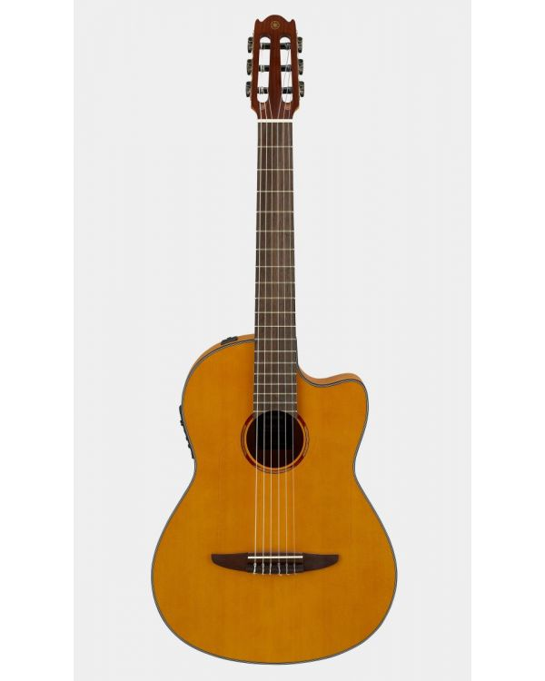 Yamaha NCX1FM Electro Classical Guitar Natural Flamed Maple
