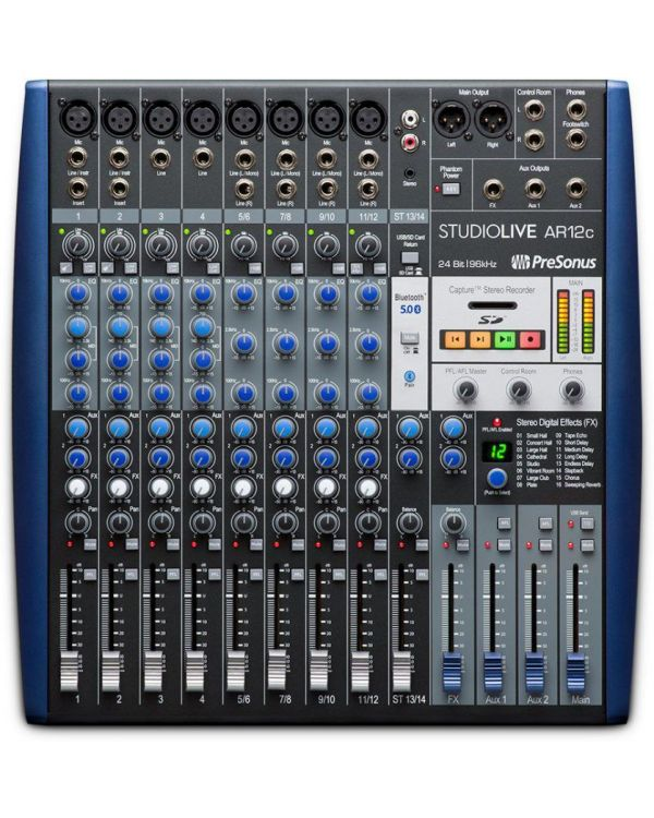 PreSonus StudioLive AR12c 12-Channel Digital Mixer