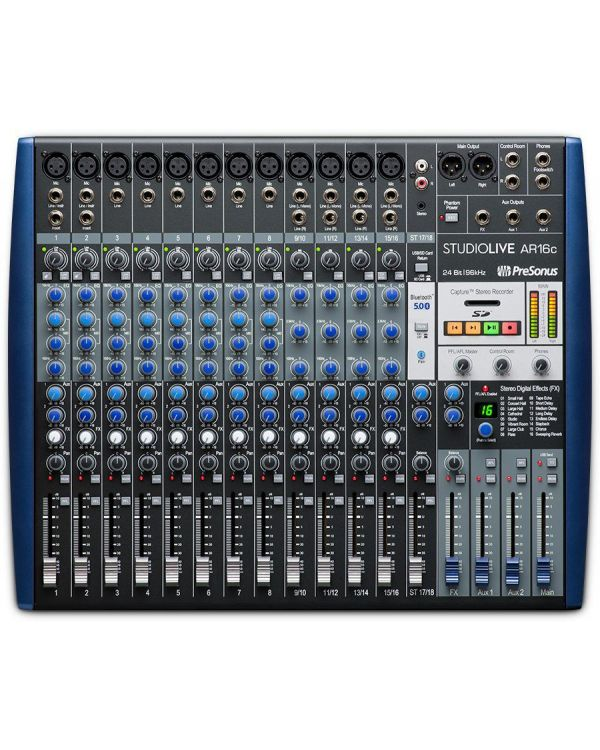 PreSonus StudioLive AR16c 16-Channel Digital Mixer