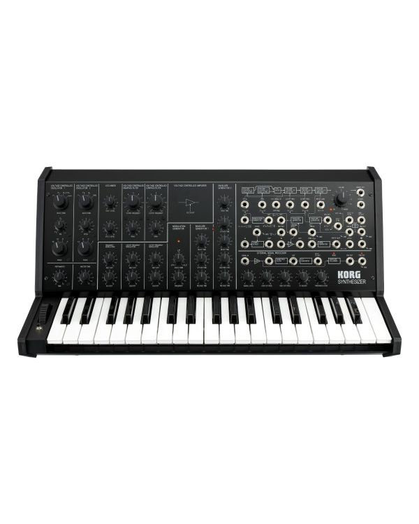 Korg MS-20 FS Monophonic Synthesizer Black