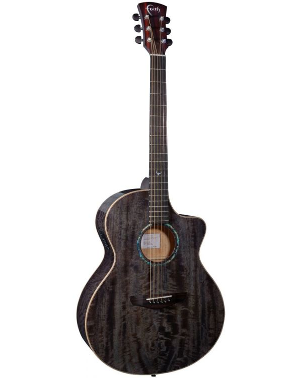 Faith Neptune Cutaway Electro Acoustic Guitar, Moondust Grey