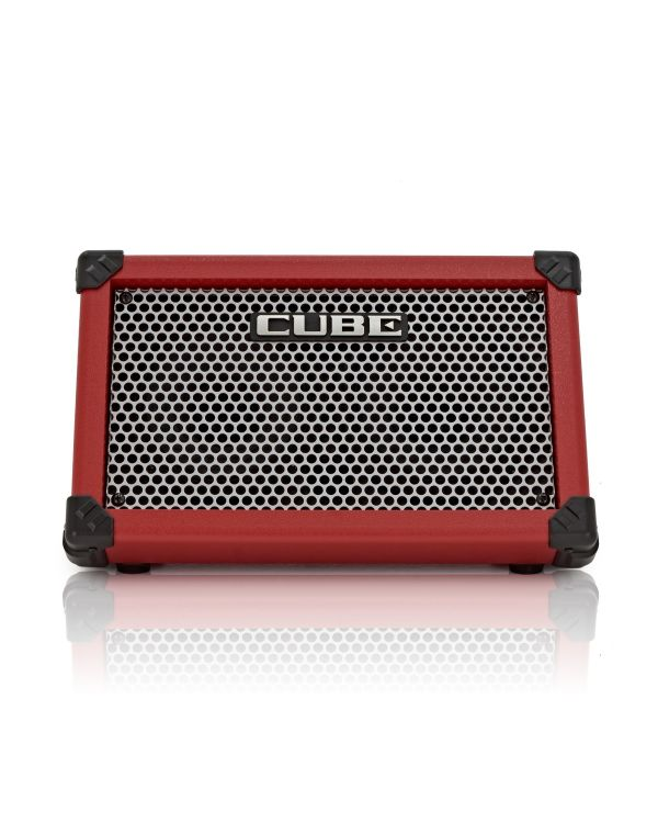 Roland Cube Street Battery Guitar Amplifier in Red