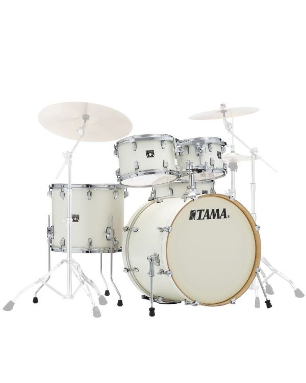 Tama Superstar Classic 5pc Shell Pack 22in Satin Arctic White