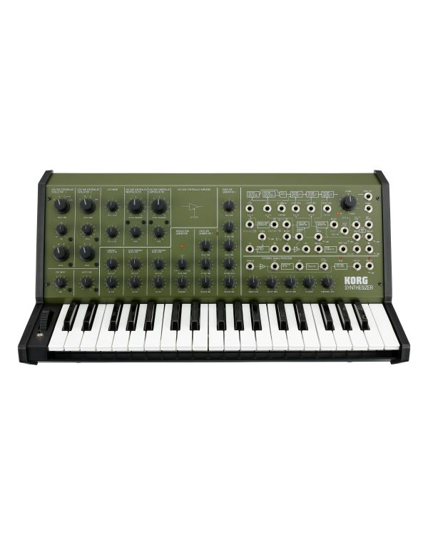 Korg MS-20 FS Monophonic Synthesizer, Green