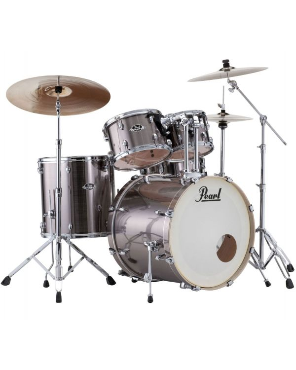 Pearl Export EXX 5pc 22in Drum Kit Smokey Chrome