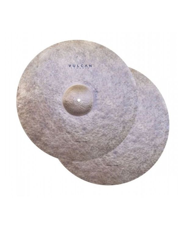 Vulcan White Master 14 inch HiHats