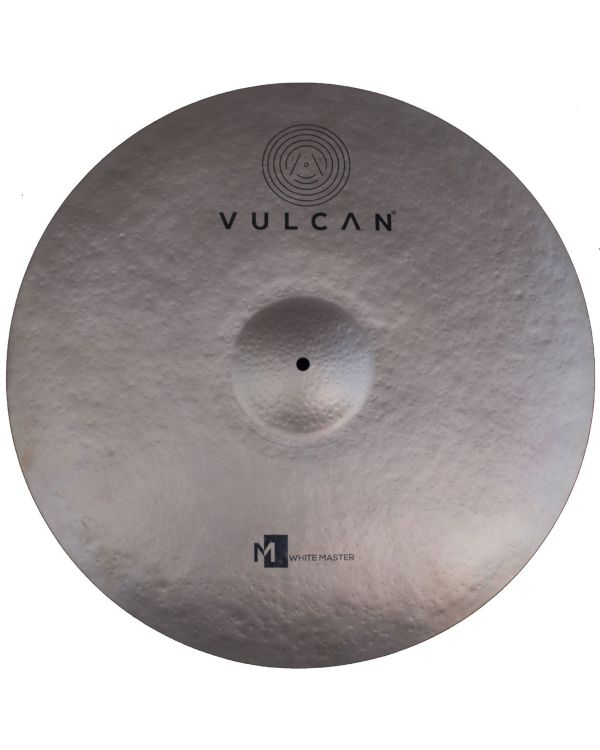 Vulcan White Master 22 inch Ride Cymbal