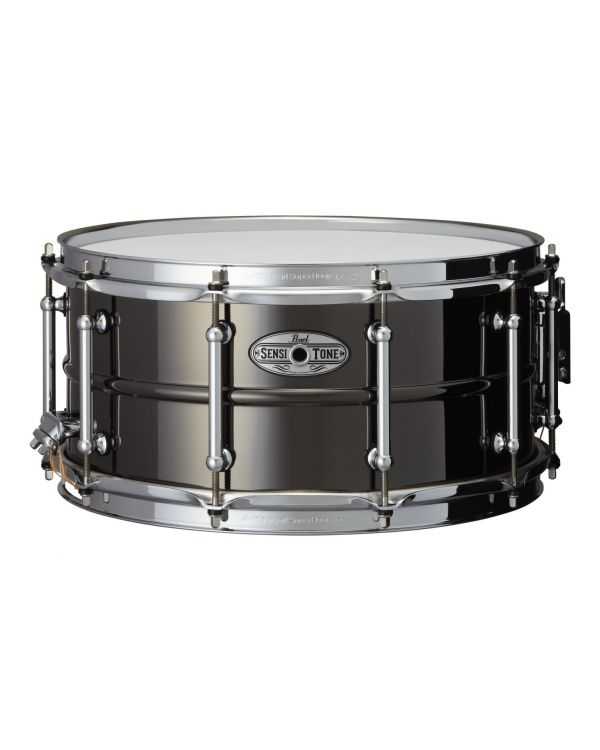 Pearl SensiTone Elite Beaded Brass Snare Drum 14 x 6.5