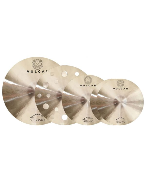 Vulcan Vesuvio B10  Cymbal Pack, Plus Bag