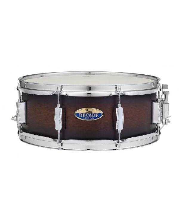 Pearl Decade Maple Snare Drum Satin Brown Burst 14 x 5.5