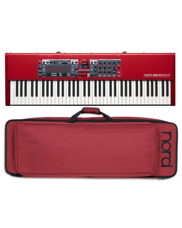 Nord Electro 6 HP Digital Piano and Case Bundle