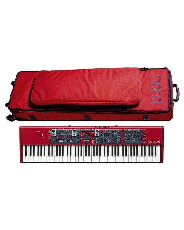 Nord Stage 3 Digital Piano and Case Bundle