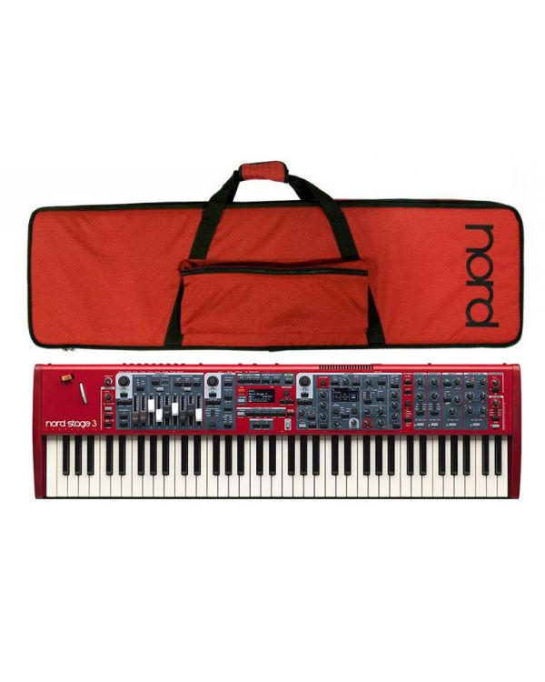 Nord Stage 3 Compact Digital Piano and Case Bundle