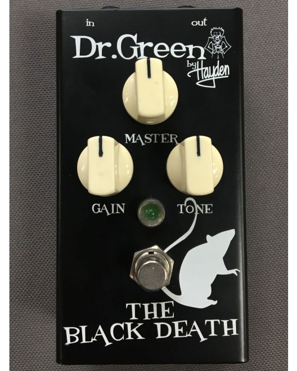 B-Stock Dr. Green The Black Death Distortion Pedal