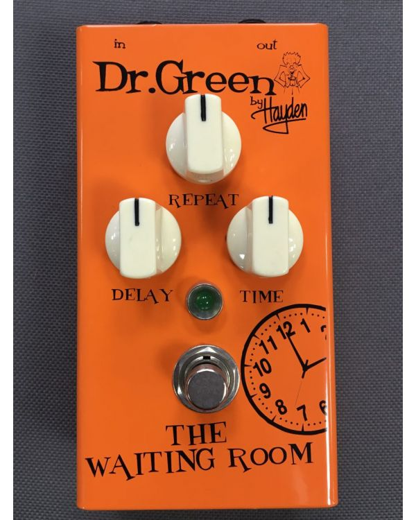 B-Stock Dr. Green The Waiting Room Delay Pedal