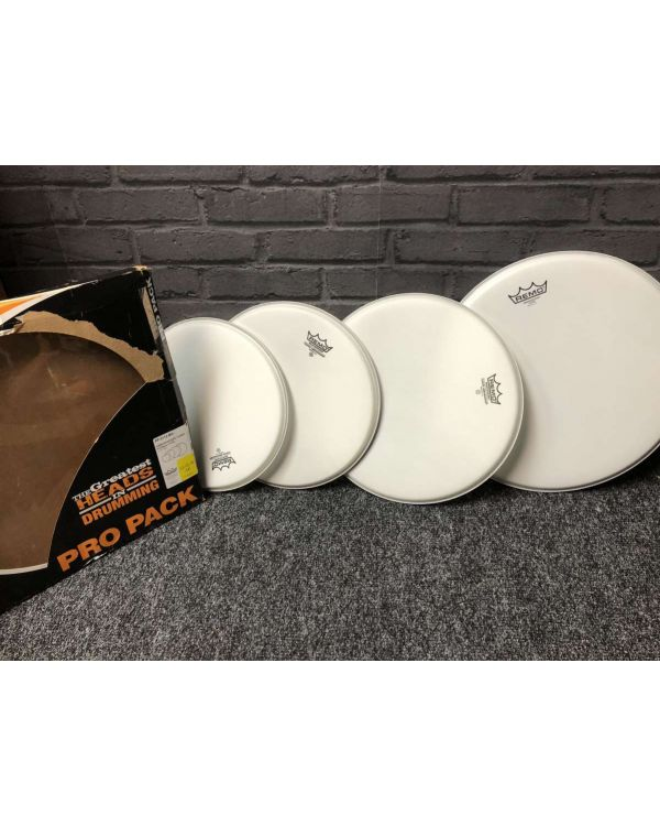 B-Stock Remo PP-0112-BA ProPack Coated Drum Head Set