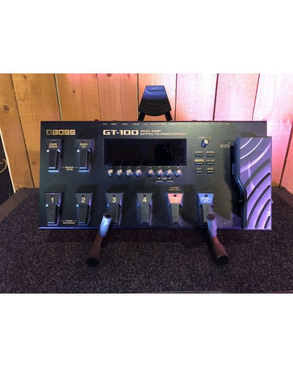 B-Stock Boss GT-100 Multi-Effects Pedal