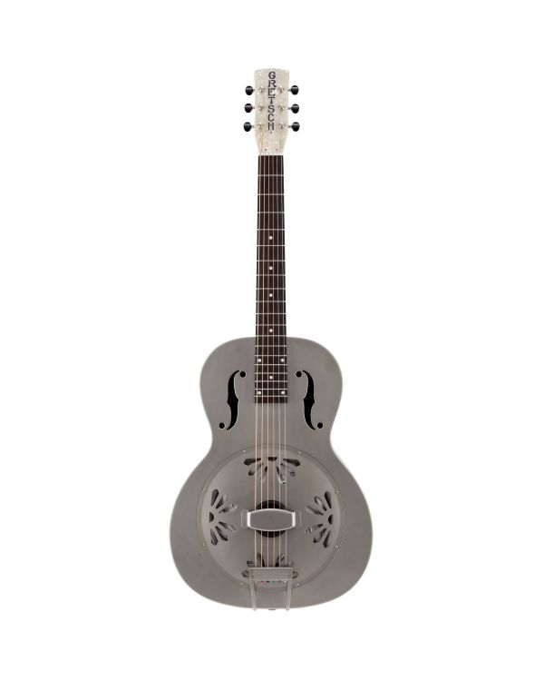 Gretsch G9201 Honey Dipper Round-Neck Brass Resonator Guitar