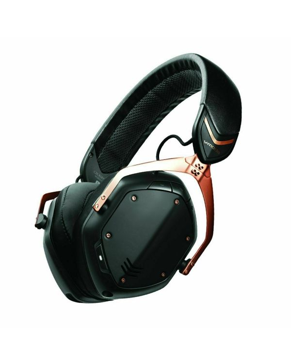 V-MODA Crossfade 2 Wireless Codex Edition Headphones Rose Gold Black