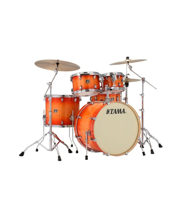 Tama Superstar Classic 5-Piece Drum Kit with Hardware Tangerine Lacquer Burst