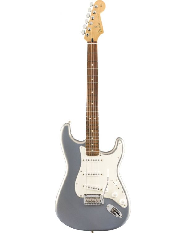 Fender Player Stratocaster PF Silver Electric Guitar