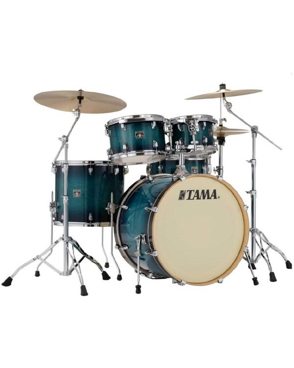 Tama Superstar Classic 5-Piece Drum Kit with Hardware Blue Lacquer Burst
