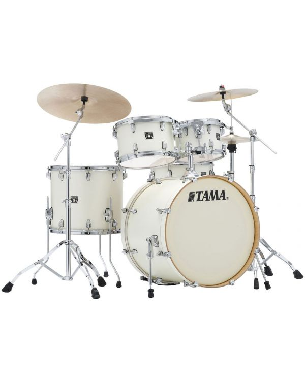 Tama Superstar Classic 5-Piece Drum Kit with Hardware Satin Arctic Pearl