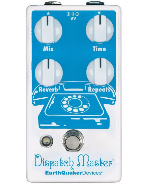 EarthQuaker Devices Dispatch Master Delay and Reveb V3