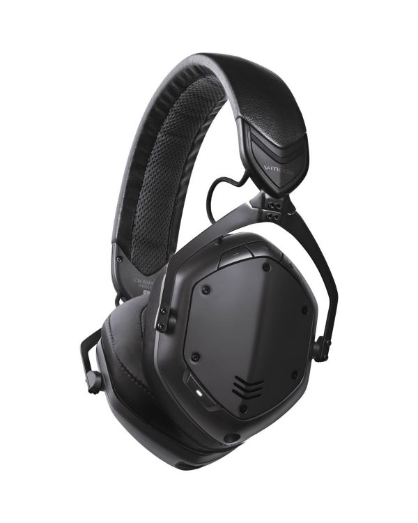V-Moda Crossfade 2 Wireless Codex Edition Headphones Matte Black Metal