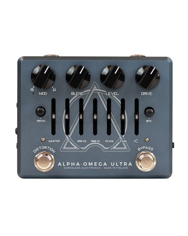 Darkglass AlphaOmega Ultra AUX Bass Preamp Pedal
