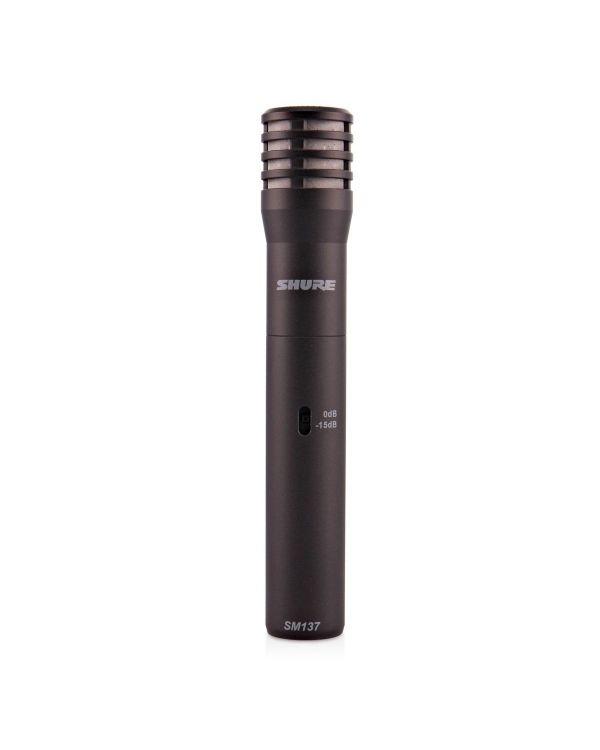 Shure SM137 Instrument Condenser Microphone