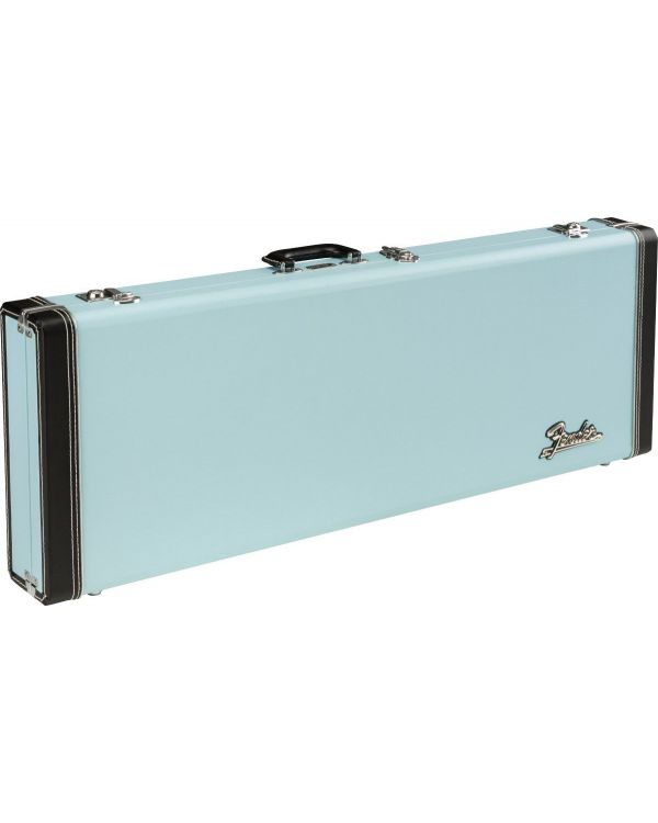 Fender Classic Series Wood Case for Strat or Tele, Sonic Blue