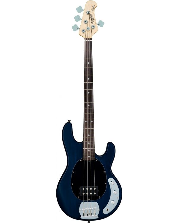 Sterling by Music Man S.U.B Ray4 Bass Translucent Blue