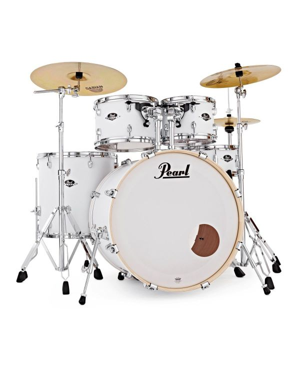 Pearl Export EXX 5-Piece Drum Kit Matt White