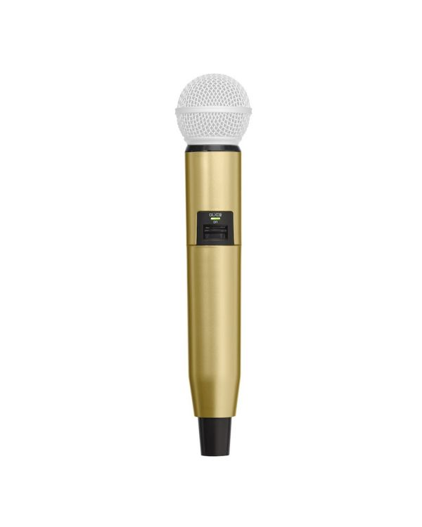 Shure BLX SM58 Beta 58A Handle in Gold