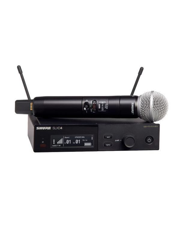 Shure SLX-D Wireless System with SM58 Handheld Microphone